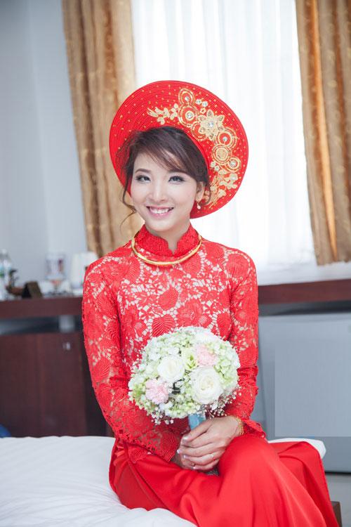 May áo dài cưới ở đâu rẻ đẹp